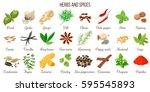 big vector set of popular...   Shutterstock .eps vector #595545893