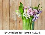spring background with...   Shutterstock . vector #595576676