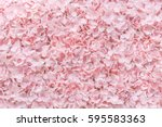 pink fake flowers  background ...