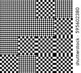 vector seamless pattern.... | Shutterstock .eps vector #595602380