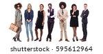 group of full body people | Shutterstock . vector #595612964