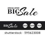 sale banner template design.... | Shutterstock .eps vector #595623008