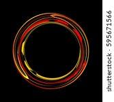 letter o roundness | Shutterstock .eps vector #595671566