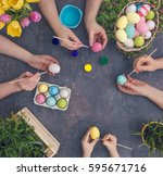 Colouring Eggs For Eastertime...