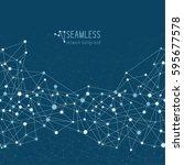 abstract network seamless...   Shutterstock .eps vector #595677578