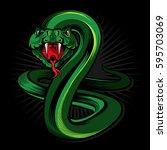 Viper Snake Illustration