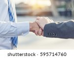 commitment   trust fundamental...   Shutterstock . vector #595714760