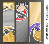 vector vertical banners for... | Shutterstock .eps vector #595736858