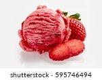 Tasty Creamy Strawberry Ice...
