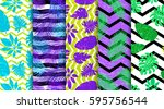 5 Seamless Patterns With...