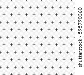 simple transparent black plus... | Shutterstock .eps vector #595790360