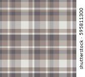 tartan vector seamless  pattern. | Shutterstock .eps vector #595811300
