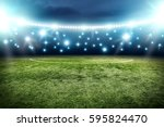 football pitch background  | Shutterstock . vector #595824470