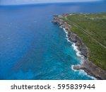 Aerial View Of A Wild Coastlin...