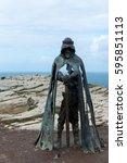 Statue King Arthur  Gallos