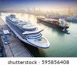 Passenger Ship In Alongside...
