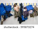 Rack Of Coats On Pegs