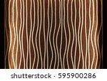 abstract led stripe warm light... | Shutterstock . vector #595900286