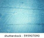 Blue Color On Wooden Board...