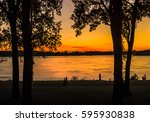 Mississippi River Reflecting A...