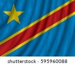 democratic republic of the... | Shutterstock .eps vector #595960088