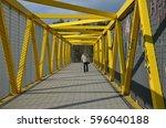 yellow tie bridge         Shutterstock . vector #596040188