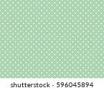 polka dot pattern  seamless... | Shutterstock .eps vector #596045894