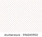 Stock vector polka dot pattern seamless background 596045903