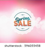 abstract colorful spring green... | Shutterstock . vector #596055458