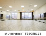interior of a dancing hall | Shutterstock . vector #596058116