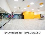interior of a dancing hall | Shutterstock . vector #596060150