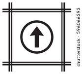 arrow   icon vector. flat...