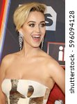 katy perry at the 2017... | Shutterstock . vector #596094128