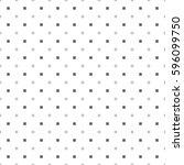 square pattern seamless white... | Shutterstock .eps vector #596099750