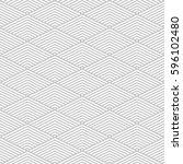 pattern stripe seamless gray... | Shutterstock .eps vector #596102480