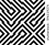 vector seamless pattern.... | Shutterstock .eps vector #596119274