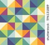 geometric pattern | Shutterstock .eps vector #596131889
