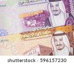 saudi arabia 5 and 10 riyal ...   Shutterstock . vector #596157230