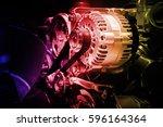 Small photo of Engine motor