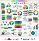 big set of different...   Shutterstock .eps vector #596268170