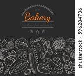 horizontal seamless background...   Shutterstock .eps vector #596284736