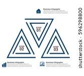 popular infographics elements | Shutterstock .eps vector #596298800