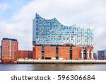 hamburg  germany   february16 ... | Shutterstock . vector #596306684