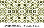 abstract interwoven repeating... | Shutterstock . vector #596335118