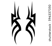tribal designs. tribal tattoos. ...   Shutterstock .eps vector #596337350