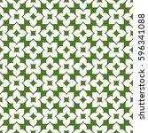 vector seamless pattern. modern ... | Shutterstock .eps vector #596341088