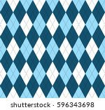 seamless argyle pattern.... | Shutterstock .eps vector #596343698