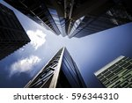 looking up in perth | Shutterstock . vector #596344310