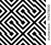 vector seamless pattern.... | Shutterstock .eps vector #596378030