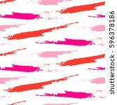 paint pink brushstrokes strokes ...   Shutterstock .eps vector #596378186